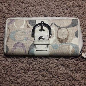 Coach Monogram Wallet/Clutch